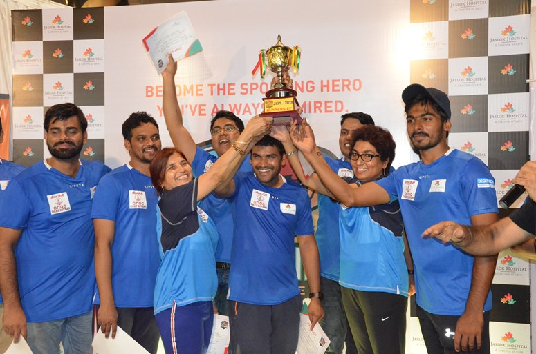 Jaslok Hospital Premier League (JHPL) was a thrilling box-cricket tournament held on 25 May at Catholic Gymkhana in Mumbai to promote a healthy lifestyle, importance of sports and work-life balance